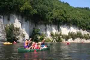Vakantie Dordogne Kanoen