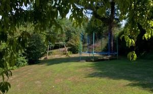 trampoline schommel